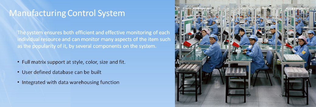 Manufacturing Control System Mcs